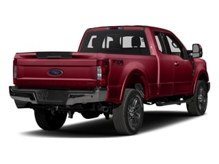 Ruby Red Metallic Tinted Clearcoat 2017 Ford Super Duty F-250 SRW Pictures Super Duty F-250 SRW Supercab Lariat 4WD photos rear view