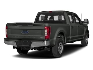 Magnetic Metallic 2017 Ford Super Duty F-250 SRW Pictures Super Duty F-250 SRW Crew Cab XL 4WD photos rear view
