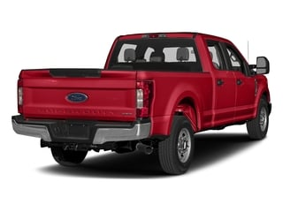 Race Red 2017 Ford Super Duty F-250 SRW Pictures Super Duty F-250 SRW Crew Cab XL 4WD photos rear view