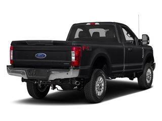Shadow Black 2017 Ford Super Duty F-350 SRW Pictures Super Duty F-350 SRW Regular Cab XLT 2WD photos rear view