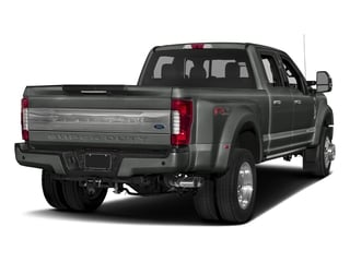 Magnetic Metallic 2017 Ford Super Duty F-450 DRW Pictures Super Duty F-450 DRW Crew Cab Platinum 4WD T-Diesel photos rear view