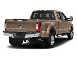 White Gold Metallic 2017 Ford Super Duty F-450 DRW Pictures Super Duty F-450 DRW Crew Cab Lariat 4WD T-Diesel photos rear view