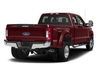 Bronze Fire Metallic 2017 Ford Super Duty F-450 DRW Pictures Super Duty F-450 DRW Crew Cab Lariat 4WD T-Diesel photos rear view
