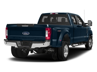 Blue Jeans Metallic 2017 Ford Super Duty F-450 DRW Pictures Super Duty F-450 DRW Crew Cab Lariat 4WD T-Diesel photos rear view