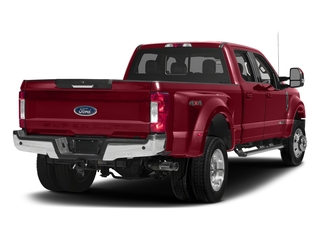 Ruby Red Metallic Tinted Clearcoat 2017 Ford Super Duty F-450 DRW Pictures Super Duty F-450 DRW Crew Cab Lariat 4WD T-Diesel photos rear view