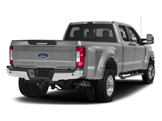 Ingot Silver Metallic 2017 Ford Super Duty F-450 DRW Pictures Super Duty F-450 DRW Crew Cab Lariat 4WD T-Diesel photos rear view