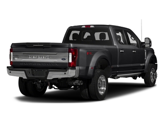 Shadow Black 2017 Ford Super Duty F-450 DRW Pictures Super Duty F-450 DRW Crew Cab King Ranch 4WD T-Diesel photos rear view