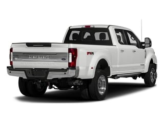 Oxford White 2017 Ford Super Duty F-450 DRW Pictures Super Duty F-450 DRW Crew Cab King Ranch 4WD T-Diesel photos rear view