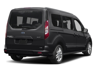 Shadow Black 2017 Ford Transit Connect Wagon Pictures Transit Connect Wagon Extended Passenger Van XLT photos rear view