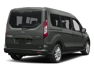 Magnetic Metallic 2017 Ford Transit Connect Wagon Pictures Transit Connect Wagon Extended Passenger Van XLT photos rear view