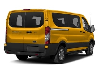 School Bus Yellow 2017 Ford Transit Wagon Pictures Transit Wagon Passenger Van XL Low Roof photos rear view