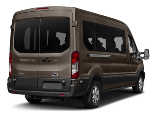 Caribou Metallic 2017 Ford Transit Wagon Pictures Transit Wagon Passenger Van XL Medium Roof photos rear view