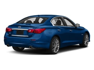 Iridium Blue 2017 INFINITI Q50 Pictures Q50 Sedan 4D 3.0T Red Sport V6 Turbo photos rear view