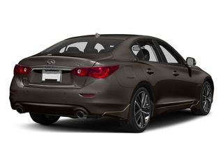 Chestnut Bronze 2017 INFINITI Q50 Hybrid Pictures Q50 Hybrid Sedan 4D AWD V6 Hybrid photos rear view