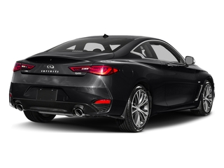 Midnight Black 2017 INFINITI Q60 Pictures Q60 Coupe 2D 2.0T Premium AWD photos rear view