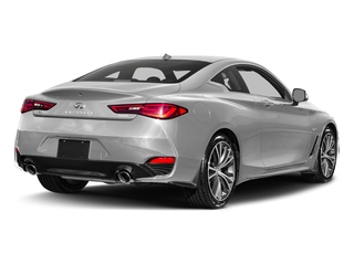 Liquid Platinum 2017 INFINITI Q60 Pictures Q60 Coupe 2D 2.0T Premium AWD photos rear view