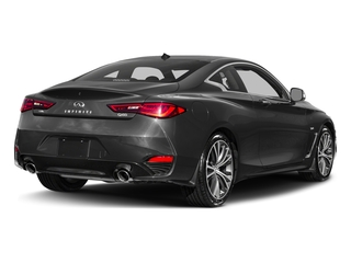 Graphite Shadow 2017 INFINITI Q60 Pictures Q60 Coupe 2D 2.0T Premium AWD photos rear view