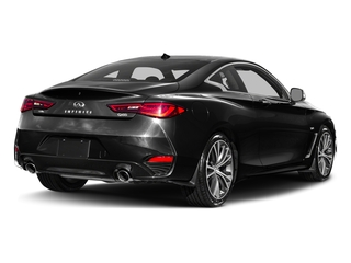 Black Obsidian 2017 INFINITI Q60 Pictures Q60 Coupe 2D 2.0T Premium AWD photos rear view