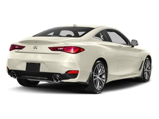 Majestic White 2017 INFINITI Q60 Pictures Q60 Coupe 2D 2.0T Premium AWD photos rear view
