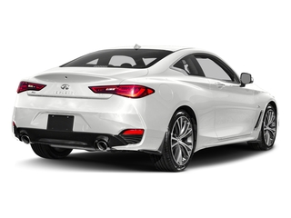 Pure White 2017 INFINITI Q60 Pictures Q60 Coupe 2D 2.0T Premium AWD photos rear view