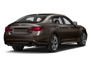Chestnut Bronze 2017 INFINITI Q70L Pictures Q70L 5.6 RWD photos rear view