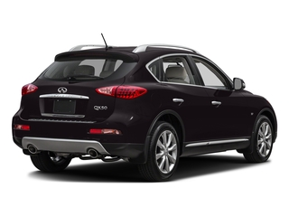 Malbec Black 2017 INFINITI QX50 Pictures QX50 RWD photos rear view
