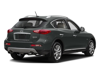 Graphite Shadow 2017 INFINITI QX50 Pictures QX50 RWD photos rear view