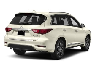 Majestic White 2017 INFINITI QX60 Pictures QX60 Utility 4D 2WD V6 photos rear view