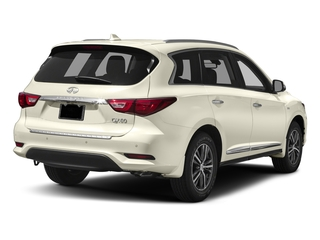 Majestic White 2017 INFINITI QX60 Pictures QX60 Utility 4D AWD V6 photos rear view