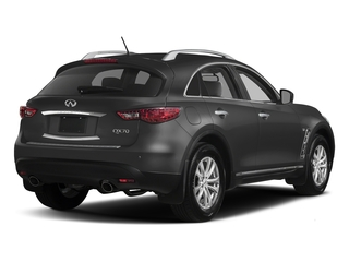 Graphite Shadow 2017 INFINITI QX70 Pictures QX70 RWD photos rear view