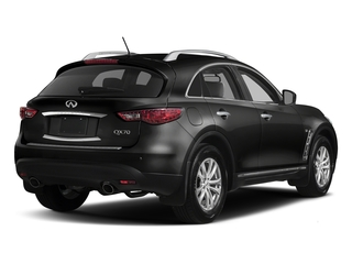 Black Obsidian 2017 INFINITI QX70 Pictures QX70 RWD photos rear view