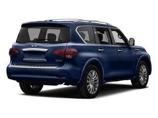 Hermosa Blue 2017 INFINITI QX80 Pictures QX80 Utility 4D Signature 2WD V8 photos rear view