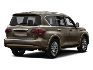 Mocha Almond 2017 INFINITI QX80 Pictures QX80 AWD photos rear view