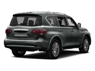 Graphite Shadow 2017 INFINITI QX80 Pictures QX80 Utility 4D Signature 2WD V8 photos rear view