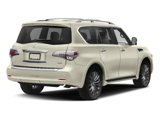 Majestic White 2017 INFINITI QX80 Pictures QX80 Utility 4D Limited AWD V8 photos rear view