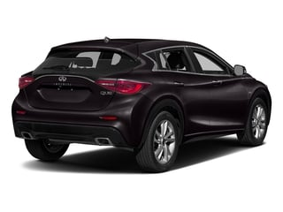 Malbec Black 2017 INFINITI QX30 Pictures QX30 Utility 4D Luxury 2WD photos rear view