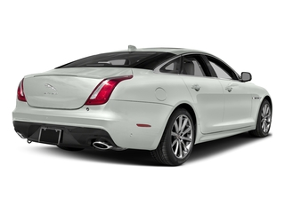 Polaris White 2017 Jaguar XJ Pictures XJ Sedan 4D V8 Supercharged photos rear view