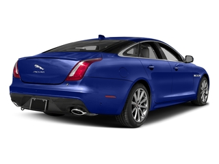 Caesium Blue Metallic 2017 Jaguar XJ Pictures XJ Sedan 4D V8 Supercharged photos rear view
