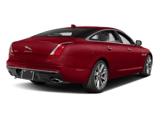 Italian Racing Red Metallic 2017 Jaguar XJ Pictures XJ XJL Supercharged RWD photos rear view