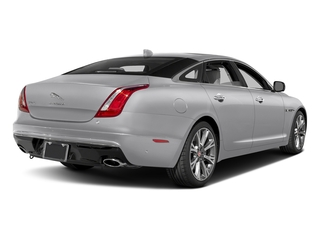 Glacier White Metallic 2017 Jaguar XJ Pictures XJ XJL Supercharged RWD photos rear view