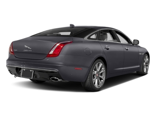 Tempest Gray 2017 Jaguar XJ Pictures XJ XJL Supercharged RWD photos rear view