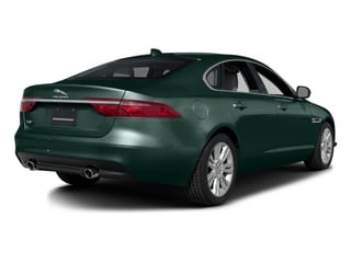British Racing Green Metallic 2017 Jaguar XF Pictures XF Sedan 4D 35t Premium AWD V6 Sprchrd photos rear view