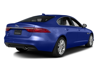 Caesium Blue Metallic 2017 Jaguar XF Pictures XF Sedan 4D 35t Premium V6 Supercharged photos rear view