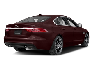 Aurora Red Metallic 2017 Jaguar XF Pictures XF 35t Prestige AWD photos rear view
