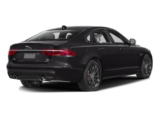 Ultimate Black Metallic 2017 Jaguar XF Pictures XF Sedan 4D S AWD V6 Supercharged photos rear view