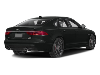 Cosmic Black 2017 Jaguar XF Pictures XF Sedan 4D S AWD V6 Supercharged photos rear view