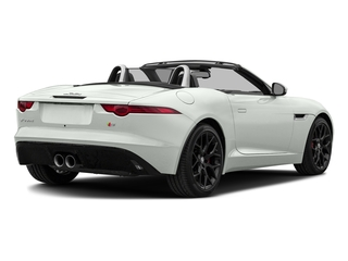 Polaris White 2017 Jaguar F-TYPE Pictures F-TYPE Convertible Manual S photos rear view