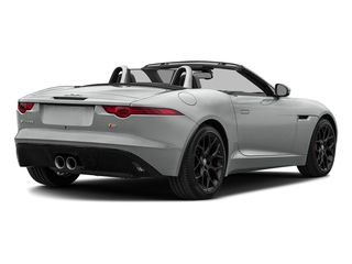 Rhodium Silver Metallic 2017 Jaguar F-TYPE Pictures F-TYPE Convertible Manual S photos rear view