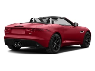 Italian Racing Red Metallic 2017 Jaguar F-TYPE Pictures F-TYPE Convertible Manual S photos rear view