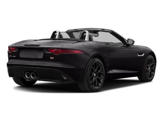 Ultimate Black Metallic 2017 Jaguar F-TYPE Pictures F-TYPE Convertible Manual S photos rear view